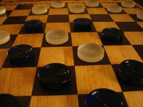 Основные приемы и принципы игры в шашки