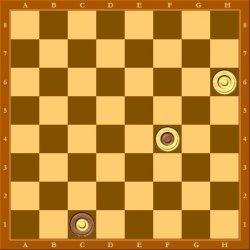 В случае b2-c1 белые также побеждают