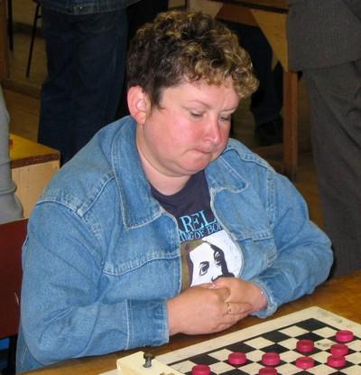 Чемпионат Москвы по русским шашкам среди женщин 2014