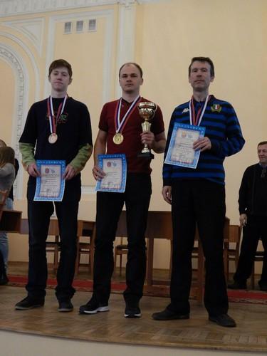 Призеры чемпионата Санкт-Петербурга по международным шашкам, блиц, 2014
