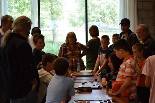 Рима Даниливичене, детский турнир по шашкам