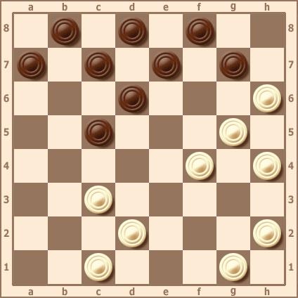 Удаление шашек с дамочных линий