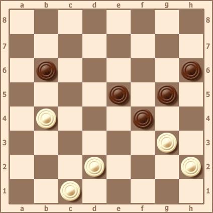 Понятие жертвы. Примеры жертв в русских шашках