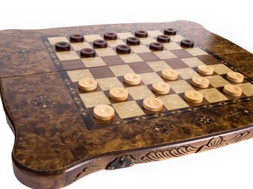Основные приемы борьбы за шашечной доской
